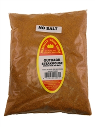Outback Steakhouse No Salt Seasoning, 44 Ounce, Refill
