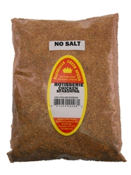 Rotisserie Chicken No Salt Seasoning, 44 Ounce, Refill