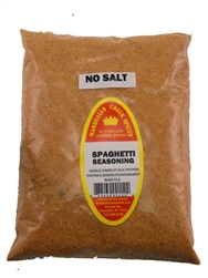 Spaghetti No salt Seasoning, 44 Ounce, Refill