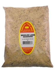 Family Size Refill Marshalls Creek Spices Broiled Lamb Seasoning, 60 Ounce