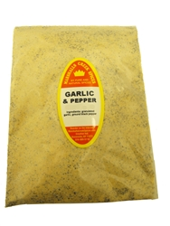 Family Size Refill Marshalls Creek Spices Garlic And Pepper Seasoning, 40 Ounce