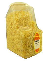 ONION CHOPPED  3 LB. RESTAURANT SIZE JUG Ⓚ