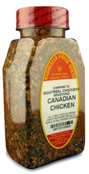 CANADIAN CHICKEN SEASONING, (COMPARE TO MONTREAL SEASONING ®)Ⓚ
