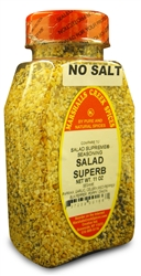 SALAD SUPERB SEASONING NO SALTⓀ