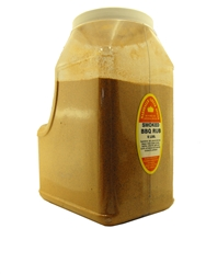 SMOKED BARBEQUE RUB 6 LB. RESTAURANT SIZE JUG