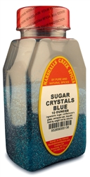 SUGAR CRYSTALS  BLUEⓀ