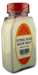 SOUR SALT,  CITRIC ACIDⓀ