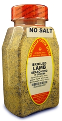 BROILED LAMB SEASONING NO SALTⓀ