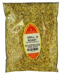 LOW SALT, GRILL & ROAST DRY RUB WITH SEA SALT REFILLⓀ