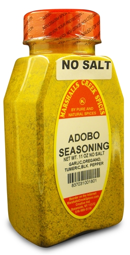 Adobo Seasoning No Salt