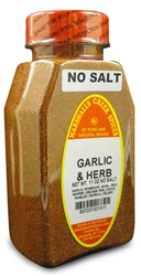 GARLIC AND HERB SEASONING NO SALTⓀ