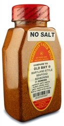 MARYLAND STYLE SEAFOOD SEASONING NO SALT (COMPARE TO OLD BAY ®)Ⓚ