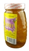 RAW WILDFLOWER HONEY WITH COMB 8 OZ GLASS JAR