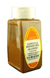 CHIPOTLE PEPPER, SMOKED GROUND RED JALAPENO 3 OZⓀ