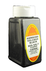HAWAIIAN VOLCANO BLACK SEA SALT COARSE