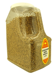 CORIANDER SEEDS WHOLE 3 LB. RESTAURANT SIZE JUGⓀ
