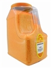 SPRINKLES ORANGE 9 LB. RESTAURANT SIZE JUGⓀ