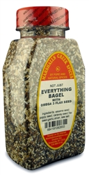 EVERYTHING BAGEL WITH OMEGA 3 FLAX SEEDⓀ