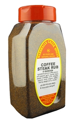 COFFEE STEAK RUB No Salt