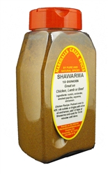 New!  SHAWARMA (for chicken, lamb, pork or beef)