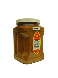 "Family Size Marshalls Creek Spices Fish No Salt Seasoning, 44 Ounce â""€"