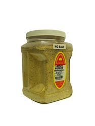 "Family Size Marshalls Creek Spices Lemon Pepper No Salt Seasoning, 32 Ounce â""€"
