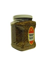 "Family Size Marshalls Creek Spices Coriander Seed Whole Seasoning, 16 Ounce  â""€"