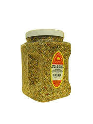 "Low Salt, Grill & Roast Rub With Sea Salt, 40 Ounces  â""€"