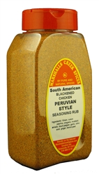 Peruvian Style South American Blackened Chicken Seasoning Rub No Salt 11 ounce