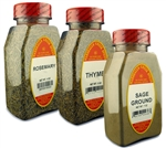 Holiday Dinner 3 Pack, Save a buck! Rosemary, Thyme & Sage