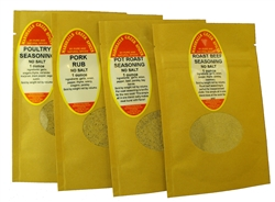 Sample Gift Pack - Roasting Blends Without Salt, No Salt