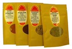 Sample Gift Pack - Steak & Beef Lovers Blends, No Salt