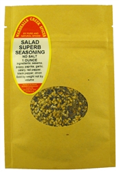 "Sample  SALAD SUPERB SEASONING NO SALTâ""€"