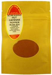 Sample SCREAMING HOT CAYENNE PEPPER