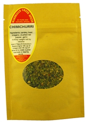 Sample CHIMICHURRI Seasoning