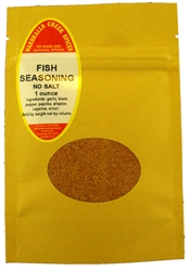 "Sample, FISH SEASONING NO SALTâ""€"