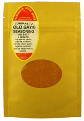 Sample, MARYLAND STYLE SEAFOOD SEASONING NO SALT (COMPARE TO OLD BAY ®)Ⓚ