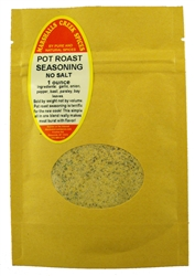 "Sample, POT ROAST SEASONING NO SALTâ""€"