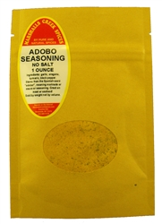 "Sample, ADOBO SEASONING NO SALTâ""€"