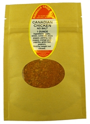 Sample, CANADIAN CHICKEN NO SALT (COMPARE TO MONTREAL SEASONING ®)Ⓚ