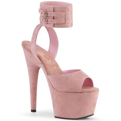 adore 791fs baby pink faux suede baby pink faux su