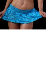 Body Zone Lace Flirty Skirt 1727LA