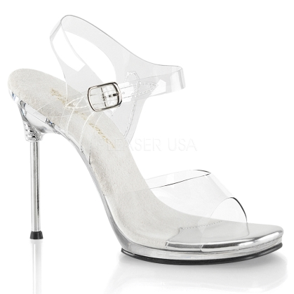 women's clear dress shoes