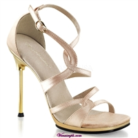 nude evening wear sandal