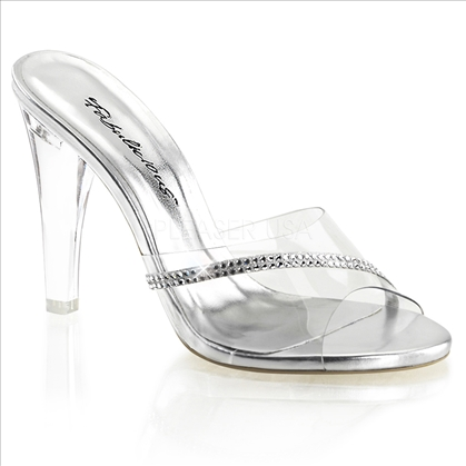 clear rhinestone posing shoes