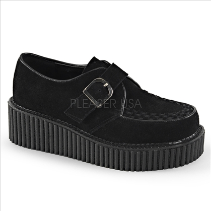 monk creeper D shaped buckle shoes