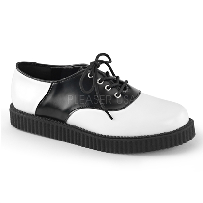 men's black white unisex shoes