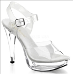 ankle strap 5 inch heel party shoes