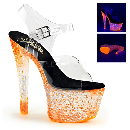 uv reactive stones on shoes