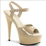 Pole Fitness Nude Color 6 Inch Heel Platform Shoe